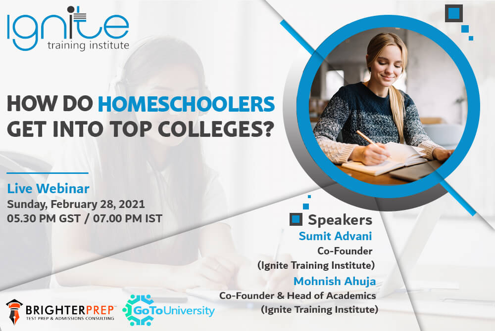 How do homeschoolers get into top colleges?